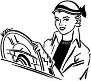 Señora Driver ilustración del vector