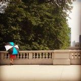 Señora en Chicago Fotografía de archivo
