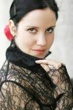 Señora española Fotos de archivo