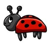 Señora feliz Bug stock de ilustración
