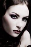 Señora gótica Foto de archivo libre de regalías