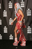 Señora GaGa en la música video 2010 de MTV concede el sitio de prensa, Nokia que VIVE el teatro L.A., Los Ángeles, CA 08-12-10 Imagenes de archivo