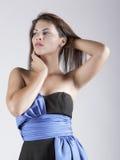 Señora hispánica atractiva foto de archivo libre de regalías