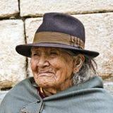 Señora indígena Portrait Fotos de archivo