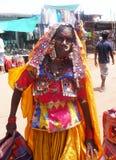 Señora india tradicional Imagen de archivo libre de regalías
