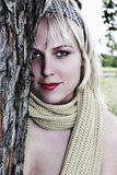 Señora joven Fotos de archivo