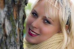 Señora joven 3 Foto de archivo libre de regalías