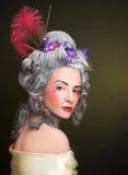 Señora joven Imagen de archivo