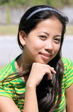 Señora joven asiática Imagenes de archivo