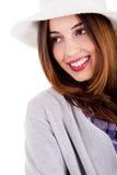 Señora joven con estilo Fotografía de archivo libre de regalías