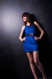Señora joven de moda Fotografía de archivo libre de regalías