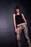 Señora joven de moda Fotos de archivo libres de regalías