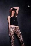 Señora joven de moda Imagen de archivo