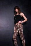 Señora joven de moda Foto de archivo