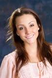 Señora joven feliz Foto de archivo