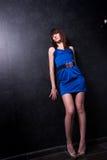 Señora joven fina de moda Fotografía de archivo