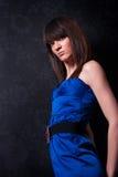 Señora joven fina de moda Foto de archivo