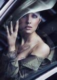 Señora joven hermosa Fotos de archivo