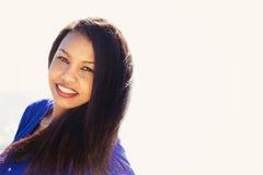 Señora joven Portrait Fotos de archivo libres de regalías