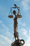 Señora Justice - Temida (Themis) Fotos de archivo