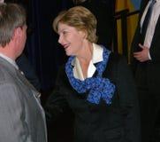 Señora Laura Bush Fotografía de archivo