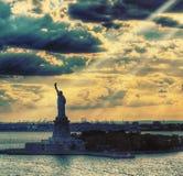 Señora Liberty Foto de archivo libre de regalías