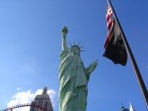 Señora Liberty en Las Vegas fotografía de archivo libre de regalías