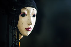 Señora Mask Imagen de archivo