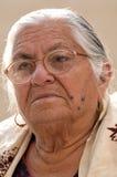 Señora mayor Fotos de archivo libres de regalías