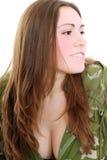 Señora militar Imagenes de archivo