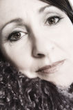Señora Portrait Fotos de archivo libres de regalías