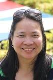 Señora Posing Foto de archivo
