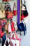 Señora Purse Shop Imágenes de archivo libres de regalías