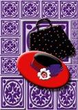 Señora In Red Society libre illustration
