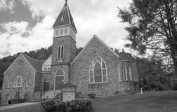 Señora Russell United Methodist Church, Saltville, Virginia imagen de archivo libre de regalías