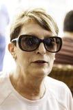 Señora With Sunglasses imágenes de archivo libres de regalías