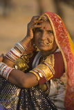 Señora tribal Imagen de archivo