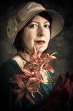 Señora victoriana Imagenes de archivo