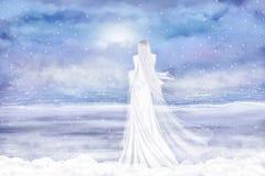 Señora Winter Fotografía de archivo libre de regalías