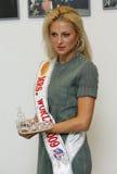 Señora World 2009 Foto de archivo libre de regalías