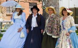 Señoras de la guerra civil Fotos de archivo libres de regalías