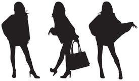 Señoras de moda Imagen de archivo