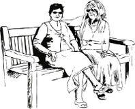 Señoras del ocio libre illustration