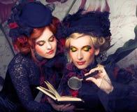 Señoras elegantes Imagen de archivo libre de regalías