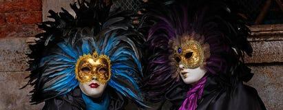 Señoras enmascaradas Imagen de archivo