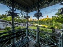Señoras Pavillion en Central Park Imágenes de archivo libres de regalías
