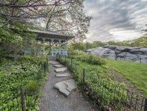 Señoras Pavillion en Central Park Fotos de archivo libres de regalías
