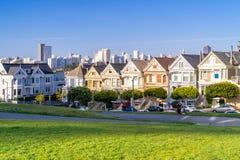 Señoras pintadas San Francisco imagenes de archivo