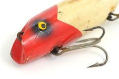 Señuelo antiguo de la pesca Fotografía de archivo