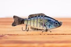 Señuelo de la pesca del cebo de la nadada imágenes de archivo libres de regalías